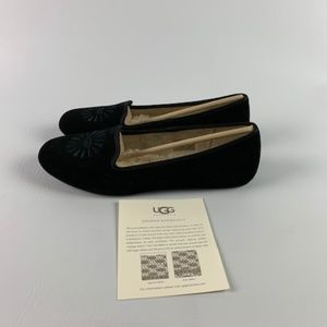 00b1464ba3e UGG AUSTRALIA WOMEN'S ALLOWAY 1001632 BLACK SUEDE Boutique